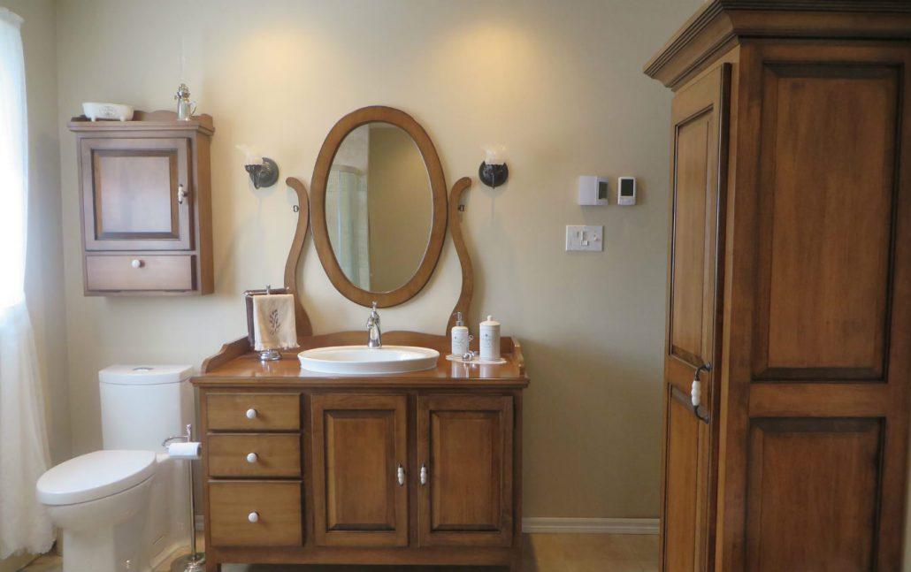 Vanité de salle de bain sur mesure - Meuble salle de bain ...