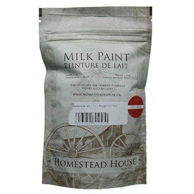 Peinture de lait Homestead House sac 230g vente en ligne produits de finition pour meuble