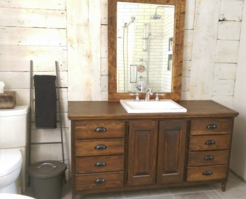 Salle de bain sur mesure bois Archives