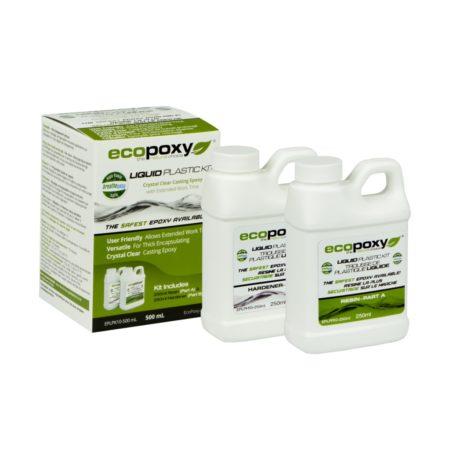 LIQUID PLASTIC une résine époxy de écopoxy format 500ml pour vente en ligne disponible chez l'ébénisterie de lanaudière