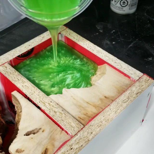 ECOPOXY Liquid plastic 2:1 Résine époxy pour table
